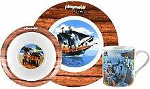 PLAYMOBIL United Labels Frühstücksset Teller