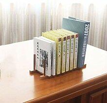 PLDDY Weinregal Kleines Bücherregal Einfache