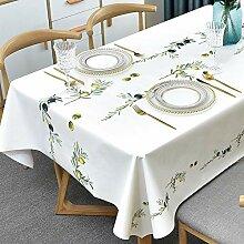 Plenmor PVC Tischdecke Plastik Quadrat für Küche