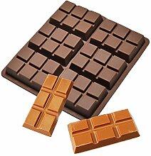 plenTree NO56903 Einhornkuchenformen, Schokolade,