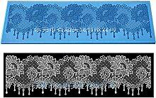 plentree Sugarcraft Fondant Form Blume Spitze