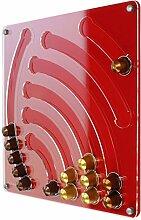 Plexidisplays 1103006 Wand-Kapselhalter für