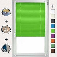Plissee 85x220 cm Grasgrün