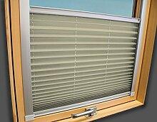 Plissee Faltstore Faltrollo für ROTO Fenster -