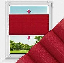 Plissee Fenster auf Maß Cosiflor® Blickdicht