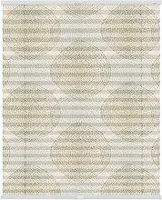 Plissee Stripy Boho Halbtransparent