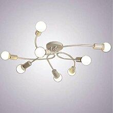 PLLP Deckenleuchte Vintage Kronleuchter Lampe,