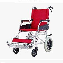PLLP Faltbarer Rollstuhl Für Den Haushalt,