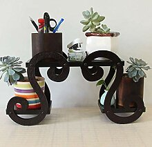 PLLP Pflanzenständer, Blumenständer Holz