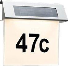 PLM 93765 - LED-Solarleuchte, Hausnummernleuchte,