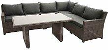 Plob 7200007Rocken, Basic ECK Lounge Set, grau