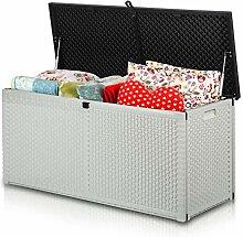 Plonos Auflagenbox Gartenbox Gartentruhe mit