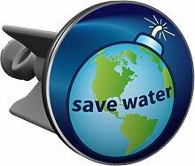 Plopp Waschbeckenstöpsel Save Water, Stöpsel,