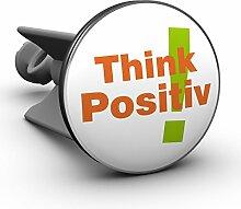Plopp Waschbeckenstöpsel Think Positive!,