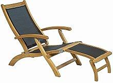 Ploss Deckchair aus Teak/Textilene versch. Farben