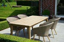 Ploss Gartenmöbel Set Borneo - 1x Dining-Tisch