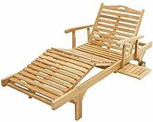 Ploß Outdoor furniture Mistral Gartenliege, Teak