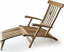 Ploß Teak Holz Deckchair Titanic Liege Stuhl