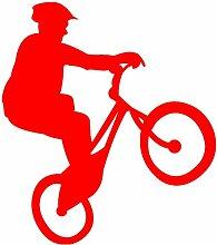 plot4u Fahrrad-Trial Aufkleber Trailbiker in 8