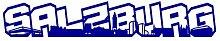 plot4u Salzburg Schriftzug Skyline Aufkleber in 8