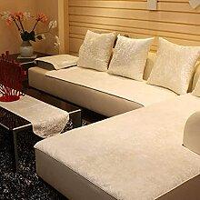 Plüsch Anti-rutsch Sofabezug Wohnzimmer Sofabezug