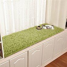 Plüsch bay fenster dämpfung fensterbank-pad teppich simple modern window mat rutschfeste balkon matte prinzessin tatami mat-C 60x120cm(24x47inch)