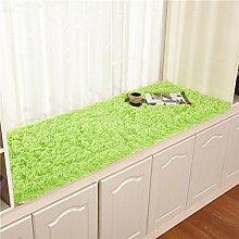 Plüsch bay fenster dämpfung fensterbank-pad teppich simple modern window mat rutschfeste balkon matte prinzessin tatami mat-J 70x150cm(28x59inch)