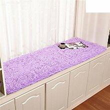 Plüsch bay fenster dämpfung fensterbank-pad teppich simple modern window mat rutschfeste balkon matte prinzessin tatami mat-A 70x150cm(28x59inch)