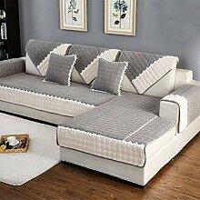 Plüsch Einfach Anti-Schlupf Sofa Cover