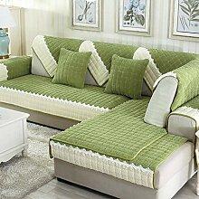Plüsch Flanell Modern Einfach Anti-Schlupf Sofa