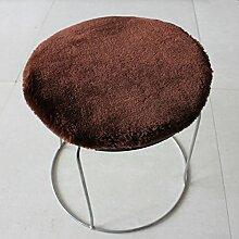 Plüsch Seat Dämpfung,Dicker Stuhlkissen Runder
