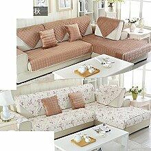 Plüsch-sofa-matte/European Style Sofa Sets/Sofa-handtuch/Sofabezug/Einfache Moderne Sofa Handtuch/Winter-sofa-matte-F 90x160cm(35x63inch)