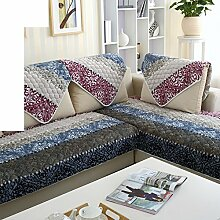 Plüsch-sofa-matte/European Style Sofa Sets/Sofa-handtuch/Sofabezug/Einfache Moderne Sofa Handtuch/Winter-sofa-matte-J 90x90cm(35x35inch)