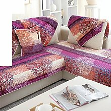 Plüsch-sofa-matte/European Style Sofa Sets/Sofa-handtuch/Sofabezug/Einfache Moderne Sofa Handtuch/Winter-sofa-matte-H 110x160cm(43x63inch)