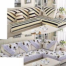 Plüsch-sofa-matte/European Style Sofa Sets/Sofa-handtuch/Sofabezug/Einfache Moderne Sofa Handtuch/Winter-sofa-matte-D 90x240cm(35x94inch)