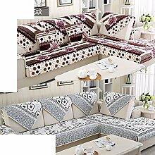 Plüsch-sofa-matte/European Style Sofa Sets/Sofa-handtuch/Sofabezug/Einfache Moderne Sofa Handtuch/Winter-sofa-matte-C 110x160cm(43x63inch)