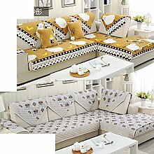 Plüsch-sofa-matte/European Style Sofa Sets/Sofa-handtuch/Sofabezug/Einfache Moderne Sofa Handtuch/Winter-sofa-matte-B 90x160cm(35x63inch)