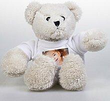 Plüsch Teddybär mit Eigen Foto - Kuscheltier