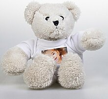 Plüsch Teddybär mit eigenem Foto - Kuscheltier