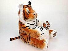 Plüsch Tigersessel Kinderzimmer Stuhl Kindermöbel Plüschtier