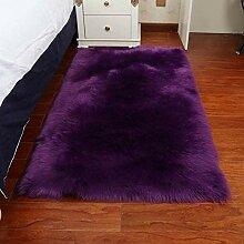 Plüsch-Zottelteppich Teppichboden mit hohem