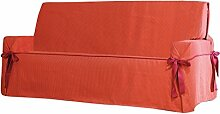 Plus Sofa Überwurf 1 Sessel Fb. 19-orange