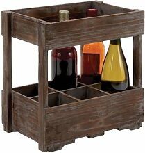 Plutus Brands Holz-Weinregal für Klassische und