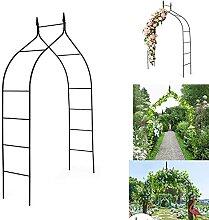 PLUY Garden Arch, Metallbogen Garten, mit