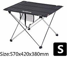 PM-TAIDU Klapptisch Draussen Camping-Tisch,
