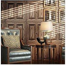 Pmhhc Pvc-Tapete Holz Design Tapetenrolle Für