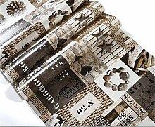 Pmrioe Tapete Für Wände 3D Vintage Stein