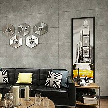 Pmrioe Vintage Grau Zement Tapete Für Wohnzimmer
