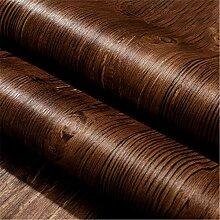 Pmrioe Vintage Imitation Holzboden Muster Tapete