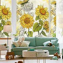 PMZZPLVDS Fensterfolie Sonnenblumen